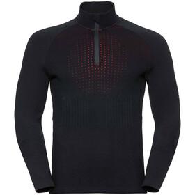 Odlo I-Thermic Couche intermédiaire avec demi zip Homme, black